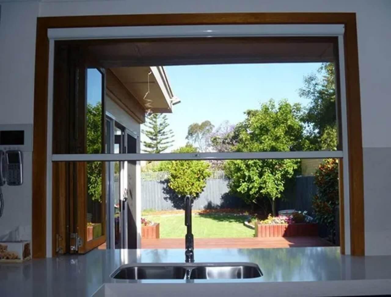 Các loại cửa sổ chống muỗi hiệu quả dành cho chung cư, nhà phố