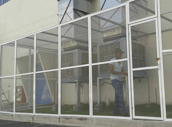 cửa lưới chống muỗi ô cố định