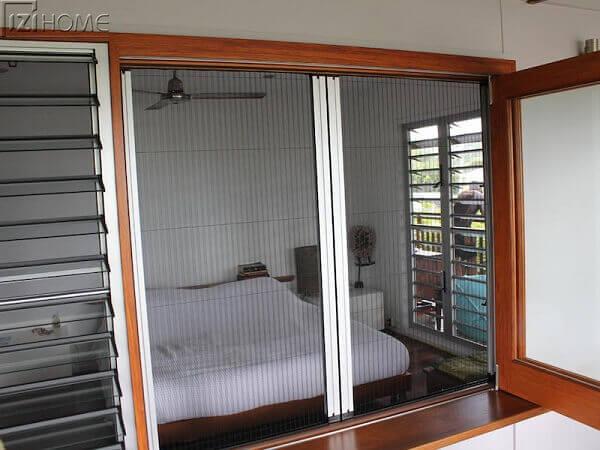 cửa lưới việt nhật giúp chống muỗi hiệu quả