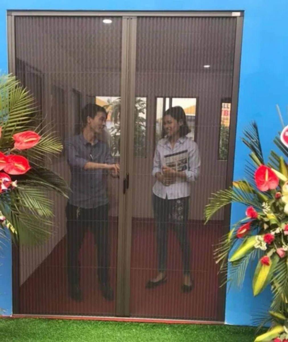 lắp đặt cửa lưới chống muỗi Việt Nhật