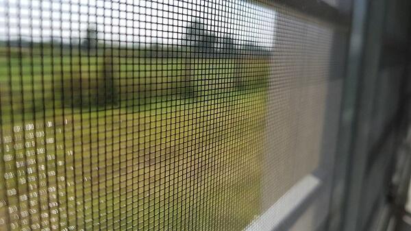 Chất liệu lưới chống muỗi bền bỉ